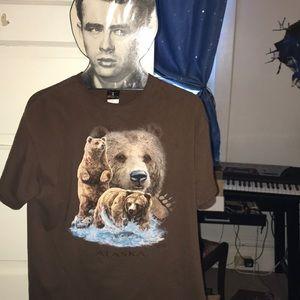 Perfect🧸Alaska Bear🐻 Shirt 100% preshrunk cotton